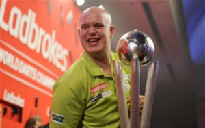 Michael van Gerwen - current PDC World Champion