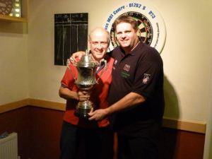 Scott ands Club Captain Andy Willis
