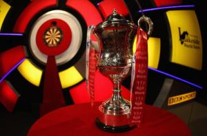 The BDO World Champions Winner Trophy  www.darts.tv