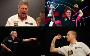 Clockwise from top left: Martin Adams, Scott Mitchell, Geert de Vos and Martin Phillips.