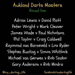 Aukland Darts Masters (1)