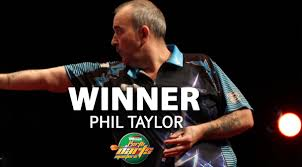 Phil Taylor, the PDC's Antipodean Master. Image: pdc.tv
