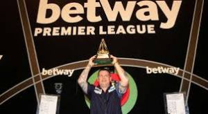 Reigning Premier League Champion, Gary Anderson Image: PDC.TV