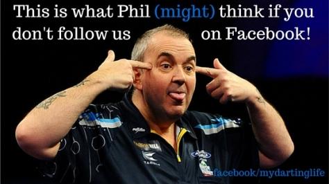 Phil Taylor - Facebook Follow