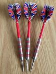 Possibly Yozza's old Red Ring Bristow darts from Argos!