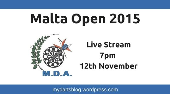 Malta Open 2015: Live Stream