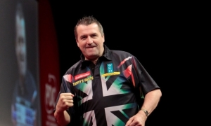 Ronnie Baxter - losing finalist in the Masters in 1998. Image: pdc.tv