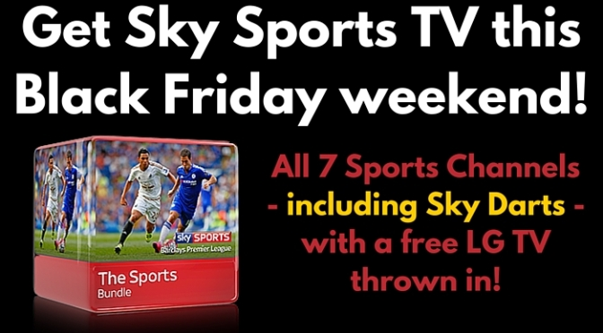 Sky Sports Offers: Black Friday Weekend