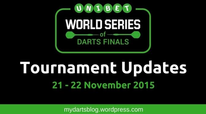 Darts on ITV: World Series of Darts Finals